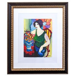 "Patricia Govezensky- Original Watercolor ""Camille"""