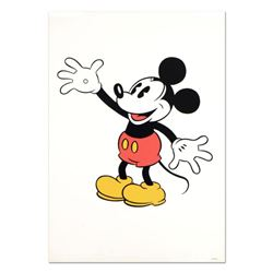"""Mickey Mouse (Waving)"" Disney Serigraph, with Letter of Authenticity."