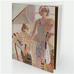 """Enduring Mysteries, Paintings of Sabzi 1987, 1997"" Fine Art Book by Abbas Daneshvari (1998). 89 Pag"