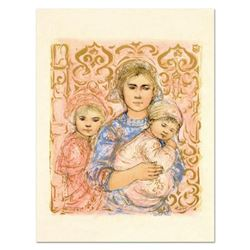 """Edna Hibel (1917-2014), """"Jenet, Mary and Wee Jenet"""" Limited Edition Lithograph on Rice Paper, Number"""