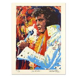 "Paul Blaine Henrie (1932-1999), ""Love Me Tender"" Limited Edition Serigraph, Hand Signed with Letter"