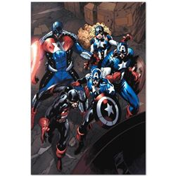 """Marvel Comics """"Captain America Corps #2"""" Numbered Limited Edition Giclee on Canvas by Phil Briones w"""