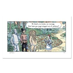 """Bizarro! """"Oz Politicians"""" Numbered Limited Edition Hand Signed by creator Dan Piraro; Letter of Auth"""