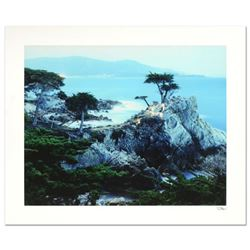 """Robert Sheer, """"Spirits Honoring the Lone Cypress"""" Limited Edition Single Exposure Photograph, Number"""