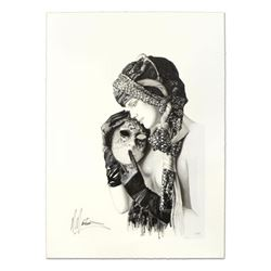 """Martiros Manoukian, """"Silent Advice"""" Limited Edition Serigraph, Numbered and Hand Signed with Certifi"""