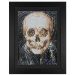 "Ringo Daniel Funes - (Protege of Andy Warhol's Apprentice - Steve Kaufman) - ""Skull Beneath the Skin"