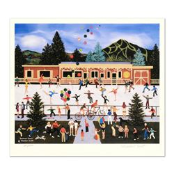 """Jane Wooster Scott, """"Summer Cheer"""" Limited Edition Lithograph, Numbered and Hand Signed with Certifi"""