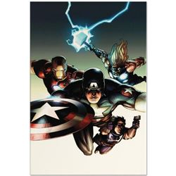 """Marvel Comics """"Ultimate Avengers vs. New Ultimates #2"""" Numbered Limited Edition Giclee on Canvas by"""
