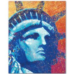 """""""Liberty"""" Limited Edition Giclee on Canvas by Stephen Fishwick, Numbered and Signed. This piece come"""