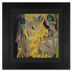 "Ringo Daniel Funes - (Protege of Andy Warhol's Apprentice - Steve Kaufman) - ""Les Demoiselles d'Avig"