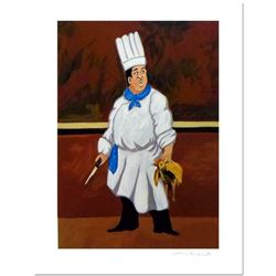 "Guy Buffet, ""Chef Louis"" Limited Edition Serigraph; Numbered and Hand Signed with Certificate of Aut"