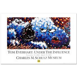 """Stalking In LA"" Fine Art Poster by Renowned Charles Schulz Protege Tom Everhart."