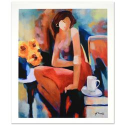 """Lady"" Limited Edition Giclee on Canvas by Yunessi Gholam, Numbered Inverso and Hand Signed with Cer"