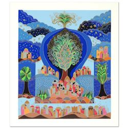 "Ilan Hasson, ""Tree of Life"" Limited Edition Serigraph, Numbered and Hand Signed with Certificate of"