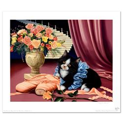 """""""Dress Rehearsal"""" is a Limited Edition Lithograph by Barbara Higgins-Bond. Numbered and Hand Signed"""