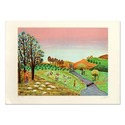 """Colagone, """"Le Borges"""" Limited Edition Lithograph, Numbered and Hand Signed."""