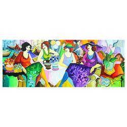 "Patricia Govezensky- Original Watercolor ""Party"""