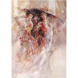"Gary Benfield ""Autumn Ball"" Giclee on Canvas"