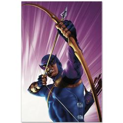"""Marvel Comics """"The Pulse #10"""" Numbered Limited Edition Giclee on Canvas by Mike Mayhew with COA."""