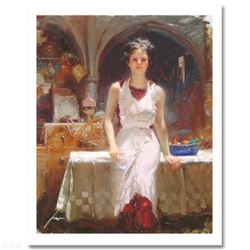"""Pino (1939-2010) """"Deborah Revisited"""" Limited Edition Giclee. Numbered and Hand Signed; Certificate o"""