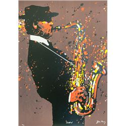 """Waldemar Swierzy (1931-2013)- Hand Pulled Original Lithograph """"Lester"""""""