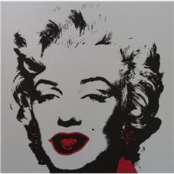 """Andy Warhol- Silk Screen """"Golden Marilyn 11.36"""""""