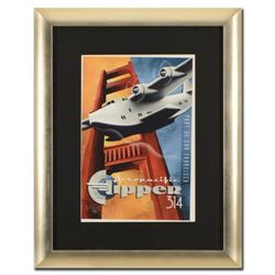 "Mike Kungl, ""Clipper 314"" Framed Limited Edition Giclee, Numbered and Hand Signed with Certificate o"