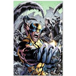 "Marvel Comics ""Wolverine: The Best There Is #10"" Numbered Limited Edition Giclee on Canvas by Bryan"