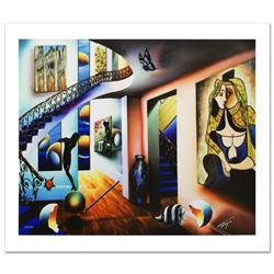 """Passageway to the Masters"" Limited Edition Giclee on Canvas by Ferjo, Numbered and Hand Signed by t"