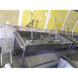"Stainless Steel Vat (41"" L x 85"" W x 43""H)"
