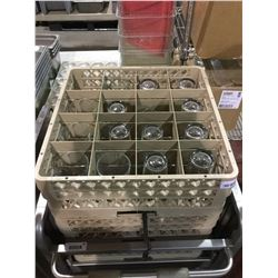 Dish racks w/ Glasses