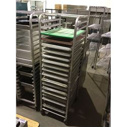 """S.S Rolling Rack (Rack Only) (20"""" L x 26"""" W x 69"""" H)"""