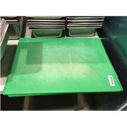 Lot of 2 Cutting Boards - Green