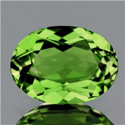 Natural  Premium Green Demantoid 6x5 MM - FL
