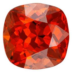 Natural Mandarin Orange Spessartite Garnet - Certified