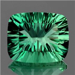 Natural AAA Emerald Green Fluorite 25.00 Ct - Flawless