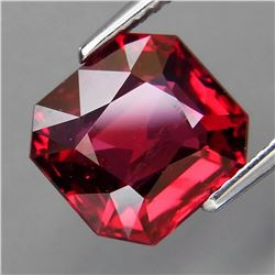 Natural Cherry Red Rhodolite Garnet 4.61 Cts-Untreated