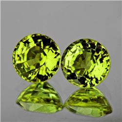 Natural AAA Canary Yellow Mali Garnet Pair 5.50 MM - FL