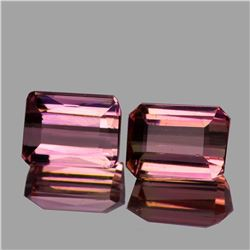 Natural AAA Sweet Pink Tourmaline Pair {Flawless-VVS1}