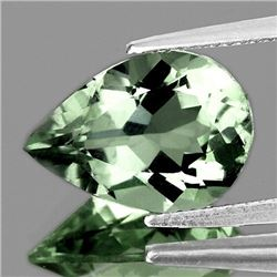 NATURAL GREEN AMETHYST 15x10 MM - VVS