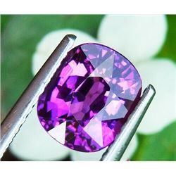 NATURAL PURPLE OVAL RHODOLITE GARNET 2.04 CT