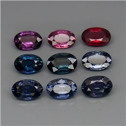 Natural Fancy Color Burma Spinel 6x4 Mm - Untreated