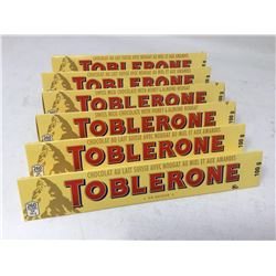 Toblerone Milk Chocolate Nougat Bars (6 x 100g)