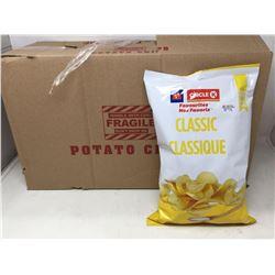 Case of Circle K Classic Potato Chips