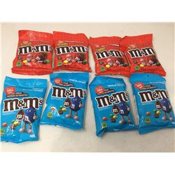 Lot of Assorted M&M's (8)