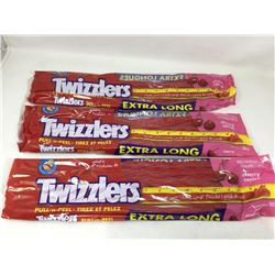 Twizzlers Extra Long Pull 'n Peel (3 x 652g)