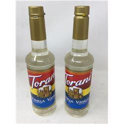 Torani Vanilla Flavouring Syrup (2 x 25 fl oz)