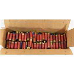 """146 Rounds 12 Ga x 2 3/4"""" Reloads and Factory"""