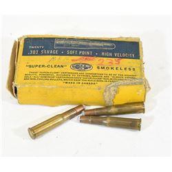 23 Rounds Dominion 303 Sav Ammunition