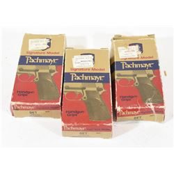 3 Pachmayr Grips Detonic All Calibers